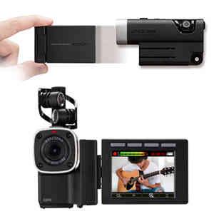 自分撮りに便利なバリアングル液晶、ウェアラブルカメラとしても利用可能