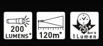 LED LENSER(レッドレンザー) P6.2 明るさ200ルーメン/実用点灯25時間 OPT-9406 [日本正規品]