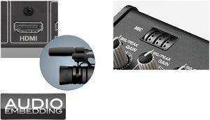 HDMI音声に対応