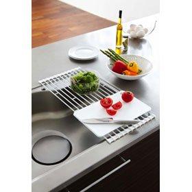 plate 折り畳み水切りラック プレート ホワイト