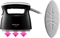Panasonic アイロン/パンツプレス 衣類スチーマー ブラック NI-FS350-K