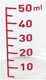 セレクト100 計量カップ 50ml (2個組) DH-3111