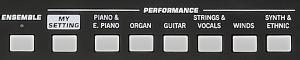 最も大切なのは、サウンド。950種類以上もの高品位な音色をこの一台で。