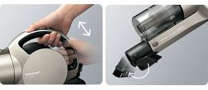 SHARP FREED コードレスサイクロン掃除機 スティックタイプ