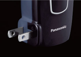 Panasonic メンズシェーバー 回転刃 黒 ES-KS30-K