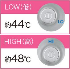 Panasonic ローラー式美容器 温感エステローラー シルバー調 EH-SP32-S