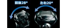Panasonic ラムダッシュ メンズシェーバー 5枚刃 赤 ES-LV56-R