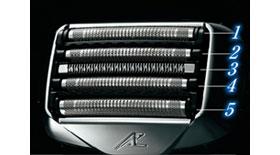 Panasonic ラムダッシュ メンズシェーバー 5枚刃 シルバー調 ES-LV96-S