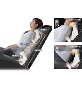 スライヴ マッサージチェア くつろぎ指定席 「アクティブ3D&横回転もみ玉搭載」 CHD-5536