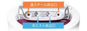 Panasonic スチーマー ナノケア ピンク調 EH-SA95-P