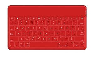 Logicool Keys to go ウルトラポータブルキーボード 防水 for iPad red