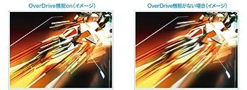 高速応答速度1ms(GtoG)で、残像感の少ない動画を表示