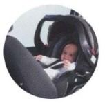 車でおでかけ 「ベビーシート」+「ベース※」(※ベースがないタイプもあります)