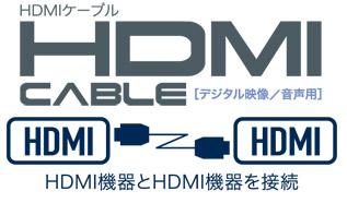 HDMI機器とHDMI機器を接続