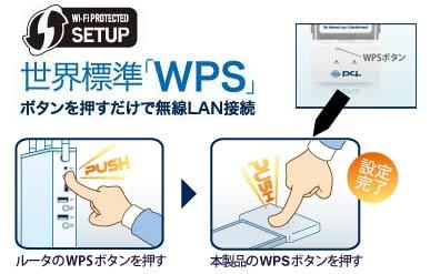 世界標準「WPS」対応