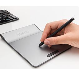 Computers/tablets & Networking With Wacom Pen Touch Pad Wireless Bamboo Pad Purple Cth300u Japan High Quality