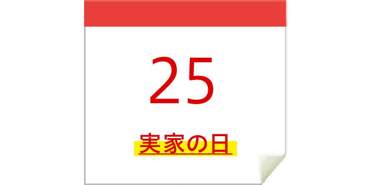 2/25 実家の日