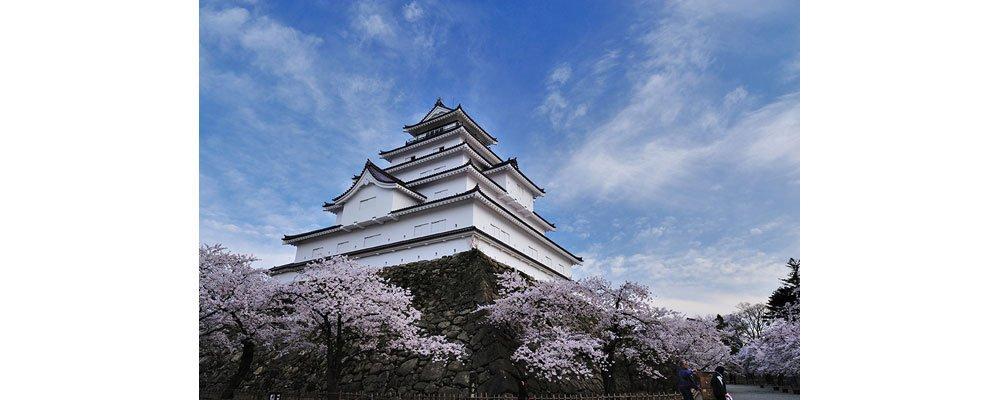 福島県の観光 鶴ヶ城 (若松城)