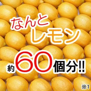 ビタミンC1200~レモン約60個分※1