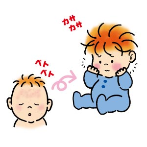 赤ちゃんの肌には低刺激の洗浄剤を!