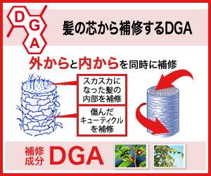 髪の芯から補修するDGA