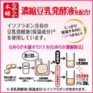 濃縮豆乳発酵液※を配合!