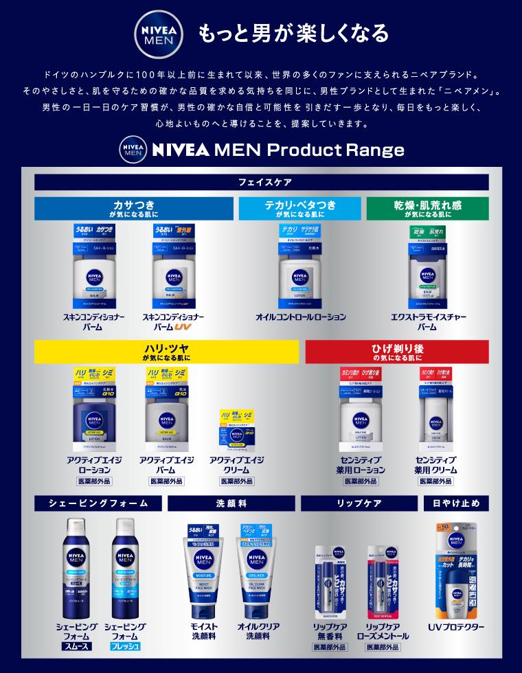 NIVEA MEN Product Range