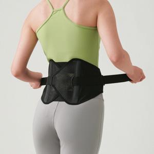 パワフルギア・ワイドタイプで腰椎を固定