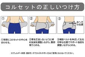 腰 コルセット 巻き 方 コルセット(腰痛ベルト)の正しい巻き方を解説!どの位置が効果的?(...