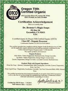 미국 OTCO 인증의 진정한 유기농 제품입니다.