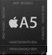 デュアルコアA5チップ