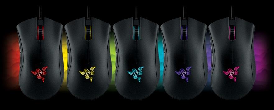 Razer [DeathAdder] chroma mouse マウス