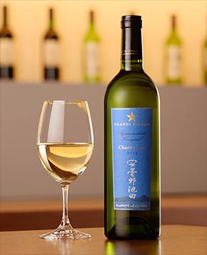 日本ワイン グランポレール 安曇野池田ヴィンヤード シャルドネ