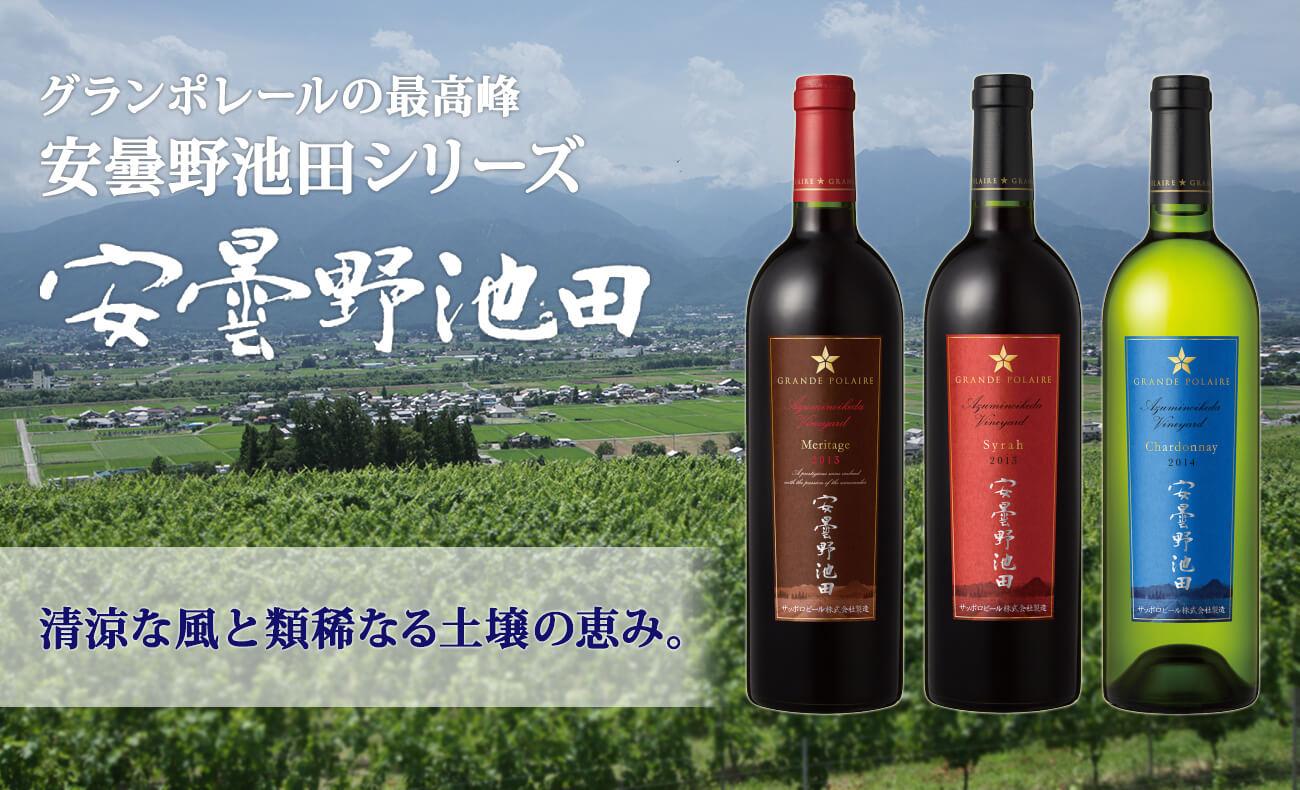 日本ワイン 安曇野池田シリーズ