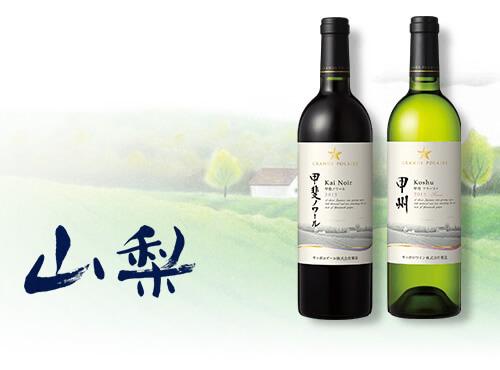 日本ワイン 山梨