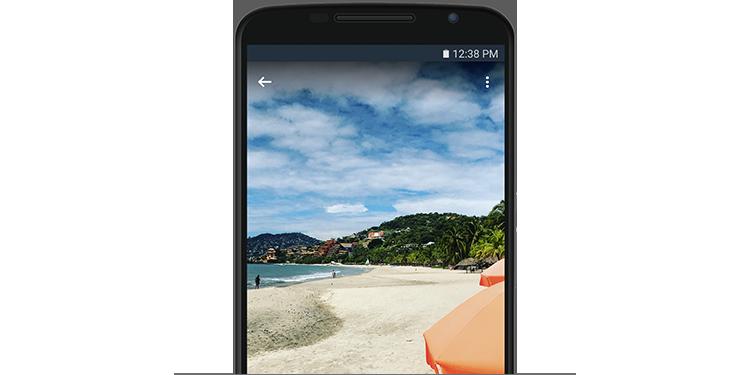どこからでも写真にアクセス。スマートフォン、タブレット、コンピューターから写真を表示して共有できます。