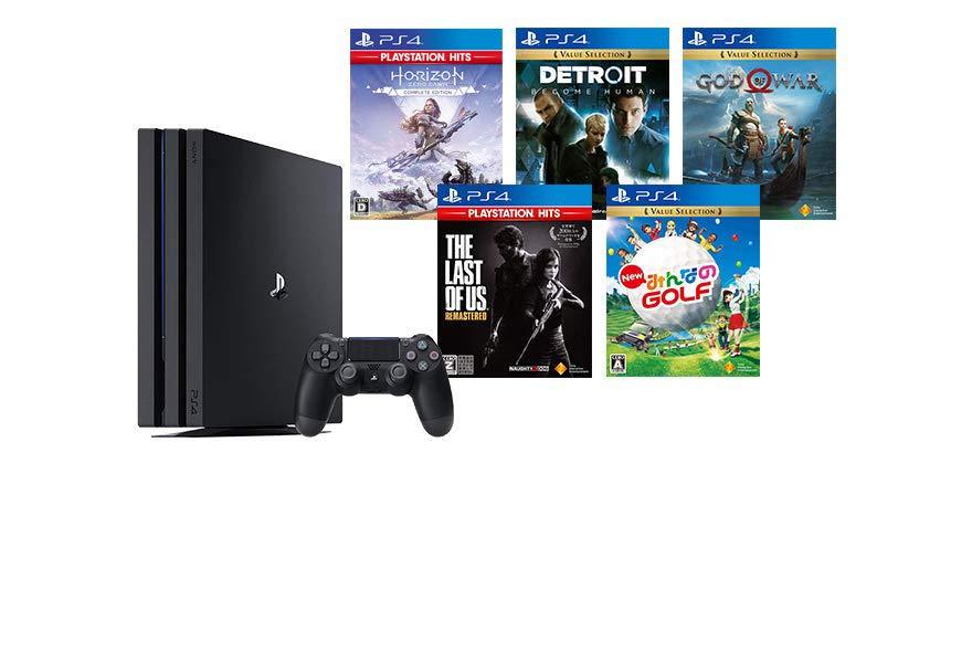 PS4 Proが5000円OFF + 名作ソフトが1本付いてくる