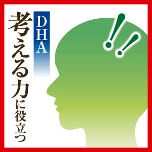 ●考える力をサポートするDHA