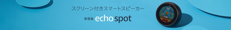 新登場 Echo Spot