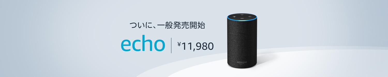 ついに一般発売 Echo