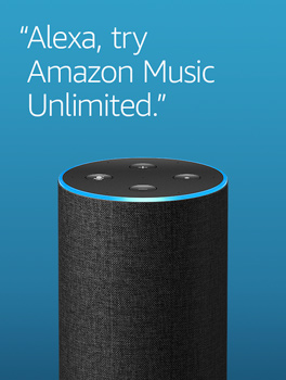 Alexa, try Amazon Music Unlimited.