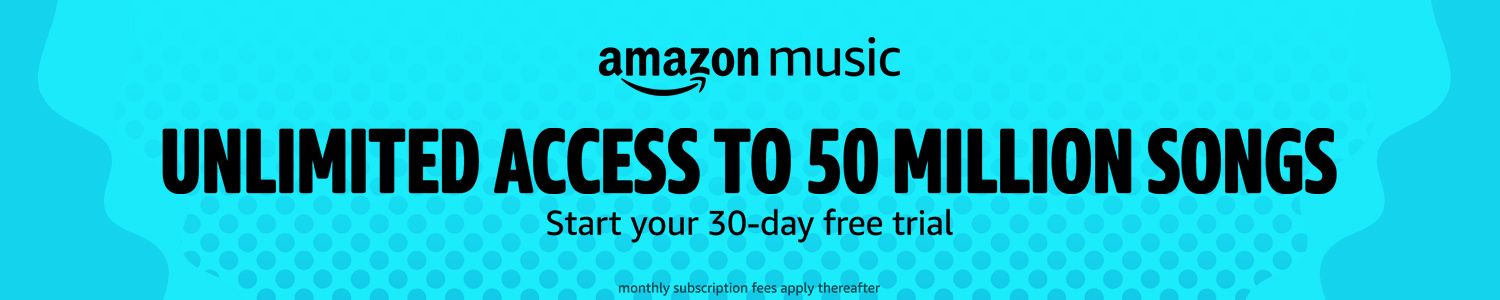 Amazon music: Unlimited access to 50 million songs
