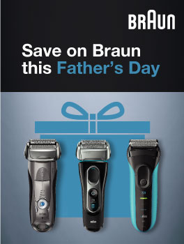 Save on Braun this Father's Day