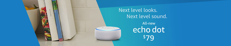 All-new Echo Dot. $79