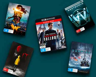 Up to 50% off select movies & TV titles