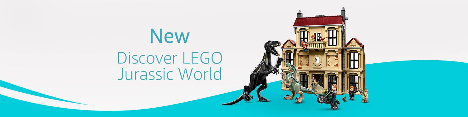 New - Discover LEGO Jurassic World