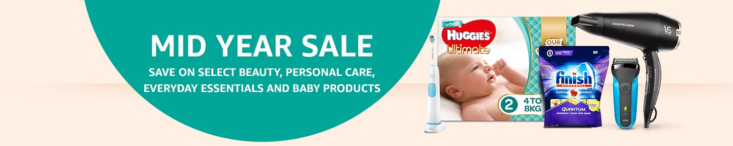 Save on select Beauty, Personal Care, Everyday Essentials and Baby Products