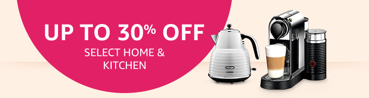 Up To 30% Off Select Kitchen & Home