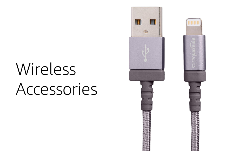 Wireless accessories Amazon basics