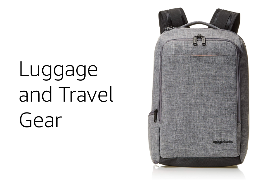 Luggage and Travel Gear Amazon basics